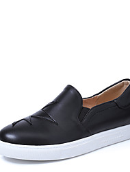 Women's Loafers & Slip-Ons Spring / Fall Platform / Others Leatherette Dress / Casual Platform Slip-on Black / Red / White Others