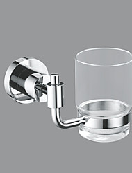 Stainless Steel Glass Cup Holder 200ml - Silver