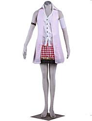 Final Fantasy Anime Cosplay Costumes Shirt / Skirt / Coat / Armlet  Female