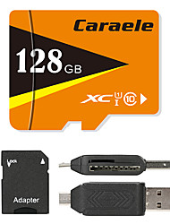 Caraele 128GB TF carte Micro SD Card carte mémoire UHS-I U1 Class10