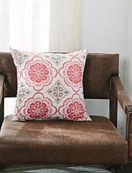 1 pc Cotton Pillow CaseFloral Modern/Contemporary / Casual