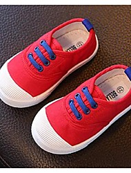 Girl's Loafers & Slip-Ons Comfort Canvas Casual Blue Pink Red