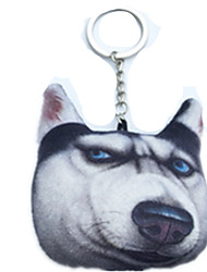 Key Chain Dog Key Chain Black Cotton