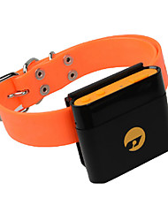 Dog GPS Collar Electronic/Electric / Rechargeable / Wireless / GPS / Batteries Included Solid Black / Yellow Plastic