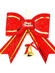 Рождественский декор Товары для Рождественской вечеринки Товары для отпуска 2Pcs Рождество Пластик Серебристый
