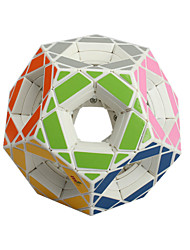 Toys Smooth Speed Cube Megaminx Novelty Stress Relievers Magic Cube White Plastic