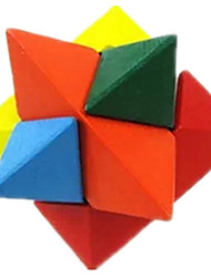 Kong Ming Lock Model & Building Toy Triangle Wood Rainbow For Boys / For Girls 5 to 7 Years / 8 to 13 Years / 14 Years & Up