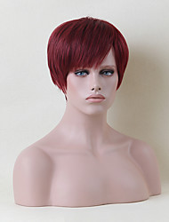 Comfortable Short Capless Wigs Natural Straight Human Hair