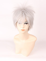 Lolita Wigs Sweet Lolita Lolita Short White Lolita Wig 35 CM Cosplay Wigs Wig For Men