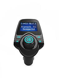 bluetooth transmetteur fm soutien TF carte, u disque, chargeur de voiture