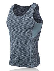 Homme Tee-shirt de Randonnée Séchage rapide Vestimentaire Respirable Confortable Vêtements de Compression/Sous maillot Hauts/Tops pour