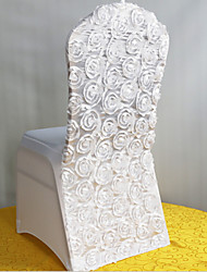 Wedding Roses Embroidered Chair Cover