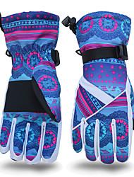 Gants de ski Femme Homme Gants sport Garder au chaud Résistant à la neige Ski Polyuréthane Gants de ski Hiver