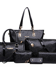 Women PU / Patent Leather Casual Bag Sets