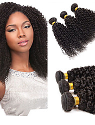 Cheap FeBay Hair Products 6A Unprocessed Malaysian Virgin Hair Kinky Curly 1Bundle/Lot 100% Human Hair
