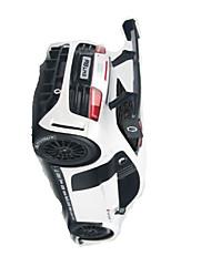 Carro Corrida 1:24 Electrico Não Escovado RC Car 50km/h 2.4G Branco Pronto a usarCarro de controle remoto Controle Remoto/Transmissor