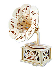 Music Box Castle in the Sky Sweet / Special / Creative Wood Beige For Boys / For Girls
