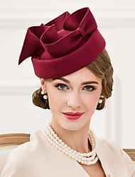 Women's Wool Headpiece-Wedding Special Occasion Casual Fascinators Hats 1 Piece