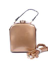 Women Patent Leather Formal / Casual / Office & Career Cosmetic Bag