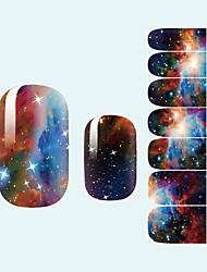 Абстракция/Милый/Свадьба - 3D наклейки на ногти - Пальцы рук - 10*7*0.1 - 1