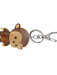 Key Chain Key Chain Brown TPU