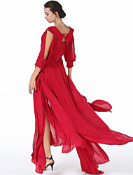Elegant palace dress beach dress 2017 new red dress