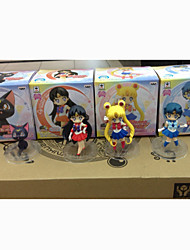 Sailor Moon Sailor Moon PVC 7 Anime Action-Figuren Modell Spielzeug Puppe Spielzeug