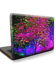 pour macbook air 11 13 / pro13 15 / pro avec retina13 15 / macbook12 apple tree purple mallette pour ordinateur portable