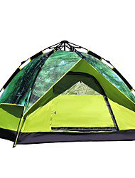 FLYTOP 2 человека Световой тент Тройная Палатка Автоматический тент Сохраняет тепло Влагонепроницаемый Хорошая вентиляция