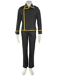 Gintama Anime Cosplay Costumes Coat / Pants Male