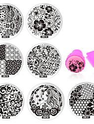 11 Unha Arte Decoração strass pérolas maquiagem Cosméticos Designs para Manicure