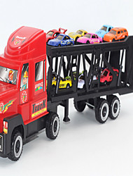 Educational Toy Model & Building Toy Truck Metal Red For Boys / For Girls