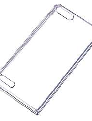 Pour Coque Huawei P8 Transparente Coque Coque Arrière Coque Couleur Pleine Dur Polycarbonate pour Huawei Huawei P8 Huawei P7 Autre