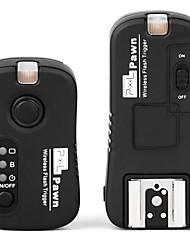 pixel® ТФ-362 беспроводная светодиодная вспышка света пульт дистанционного управления затвором для Nikon