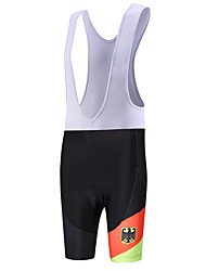 Sports QKI German Cycling Bib Shorts Men's Breathable / Quick Dry / Anatomic Design / Wearable / 3D Pad / Sweat-wicking Bike Bib ShortsPolyester