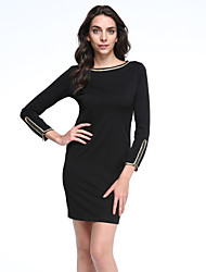 Women's New Winter Korean Slim Dress