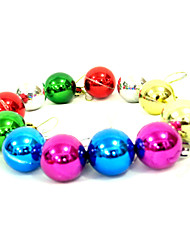Christmas Decorations / Christmas Party Supplies Holiday Supplies Spherical Plastic Red / Green / Blue / Yellow Above 3