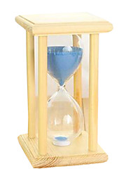 Toys For Boys Discovery Toys Hourglasses Square Glass Wood Green Blue Pink Purple