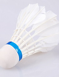 1 Piece Badminton Feather Shuttlecocks Shuttlecocks Low Windage High Strength High Elasticity Durable for Outdoor Practise Leisure Sports