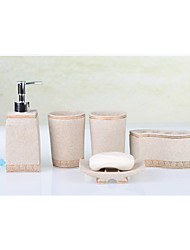 articles de toilette fixe 5 pcs