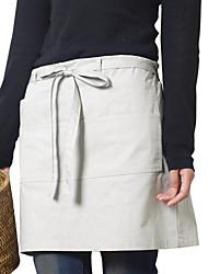японский стиль фартук (хлопок 67 * 116) с карманами - для ресторанов и домашнего хозяйства