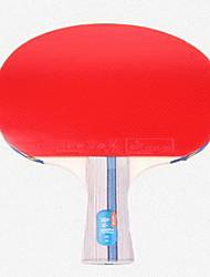 Tennis de table Raquettes Ping Pang Bois Boutons Intérieur-#