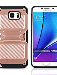 For Samsung Galaxy Note7 Back Cover Case Shockproof with Stand Case Armor Hard PC Phone Cover