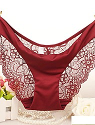Women Lace Ultra Sexy Panties Briefs  Underwear,Polyester