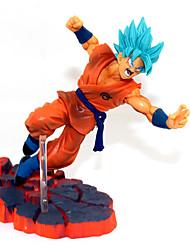 Figures Animé Action Inspiré par Dragon Ball Son Goku PVC 14 CM Jouets modèle Jouets DIY