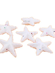 Holiday Props Christmas Decorations Christmas Party Supplies Christmas Tree Ornaments Holiday Supplies Stars Foam White For Boys For Girls 7cm