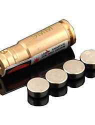 calibração ponteiro lt-9 milímetros laser vermelho (4mw, 650nm, 4xag13, cáqui)