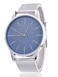 Unisex Wrist watch Quartz Alloy Band Silver