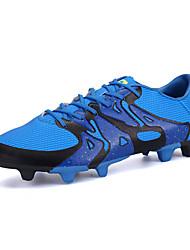 Herren-Sportschuhe-Sportlich-Stoff-Flacher Absatz-Komfort-Schwarz Blau Grün