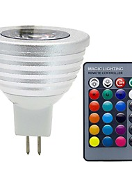 mr16 3w 280lm rgb dc 12v led lampe 16 couleur led spot light avec ir contrôleur à distance ampoule led